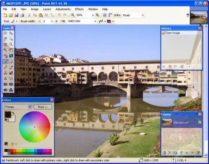 "Free ""photoshop"" type software to edit photos"